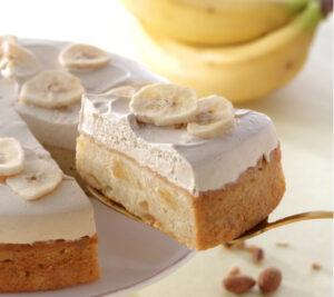 バナナのアーモンドミルクケーキ