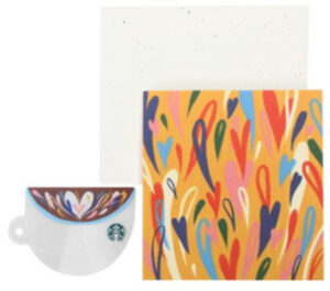 コーヒーカップグリーティングカード